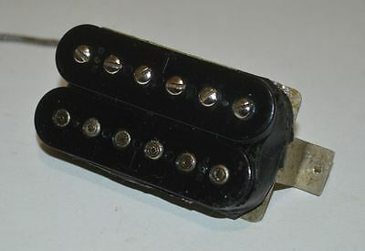 Vintage 1967 Gibson Patent Number Sticker T Top Pickup 7.46 Ohms 1968 1219PU3