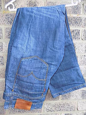 Mens vintage Blue denim Levi's denim  jeans Levi Strauss & Co  36w 32L