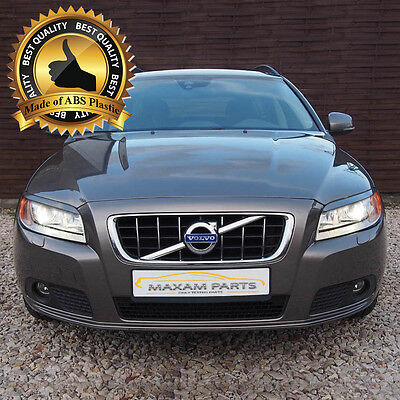 = VOLVO V70  2008-2016  Headlight eyebrows eyelids = ABS PLASTIC =