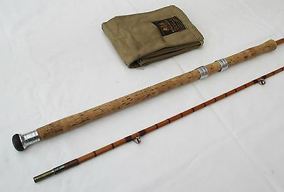 "Westley  Richards   "" The  Salmox ""    9'- 6""     Split Cane Spinning Rod"