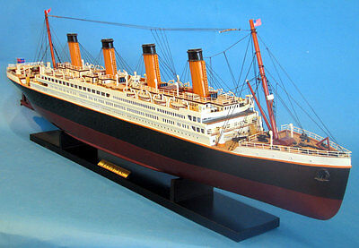 """RMS Titanic Model Cruise Ship 40"""", Handcrafted , Fully Assembled"""