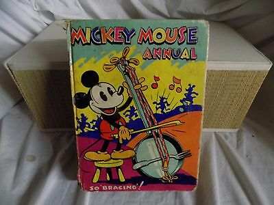 """Mickey Mouse Annual """" So Bracing"""""""