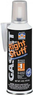 PERMATEX 25223 the Right Stuff 1 minute gasket Maker 4 oz. can black super tacky