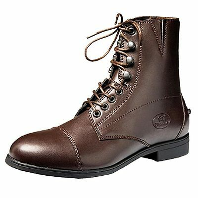 10 Size Brown Devonaire Ladies North Park Lace Paddock Shoes Boot