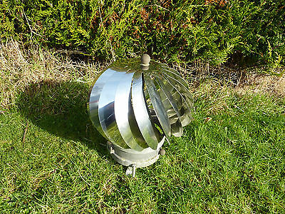 Polished Stainless Steel Spinning Chimney Cowl