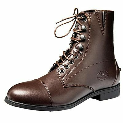 3.0 Size Brown Devonaire Leather Kids Child Shoes Boot North Park Lace Paddock