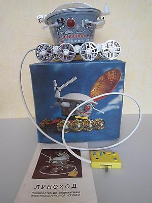 """Lunokhod -"""" Soviet toy. space. THE USSR."""