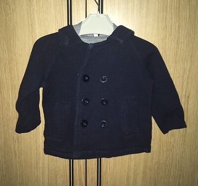 Baby Boys Gap Hooded Jacket 6-12 Months
