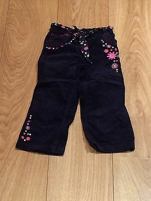 Girls Trousers Aged 2 To 3