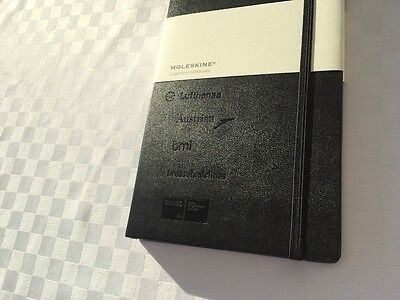 LUFTHANSA Group Airlines MOLESKINE Notebook A5 - NEW + RARE ******