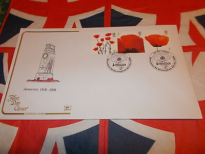 British  Armistice 1918-2008 First Day Cover Cotswold Cover**