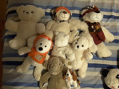 Lot De 17 Peluches Divers