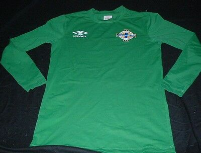 Northern Ireland IFA Ulster Football Large Mans New Umbro Tight Fit Under Jersey