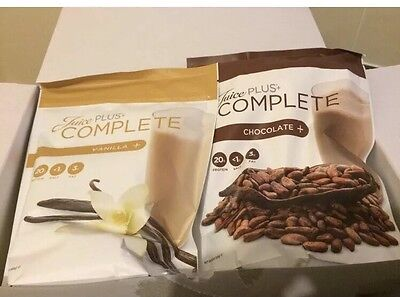 Juice Plus Shakes , 2 Pack , Chocolate And Vanilla Sealed Pouches.
