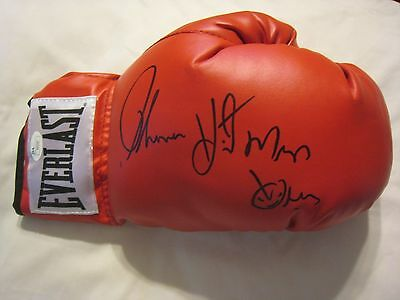 Thomas Hitman Hearns Signed Everlast RIght Hand Boxing Glove - JSA COA