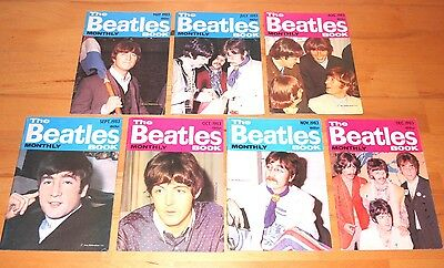 The Beatles Monthly Magazine 1983 7 issues