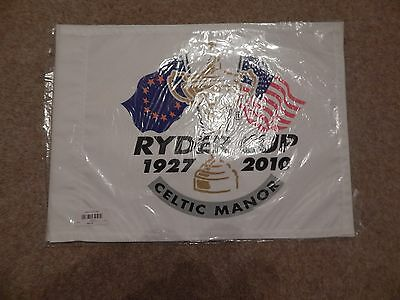 Ryder Cup Pin Golf Flag 2010 Brand New Unsigned Genuine