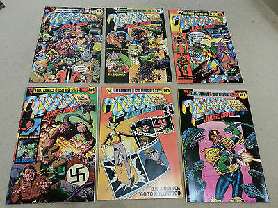 2000ad Eagle comics 6 issue mega-series - all 6 in excellent condition