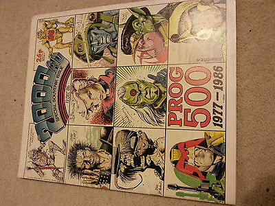 2000AD Prog 500 comic in very good condition