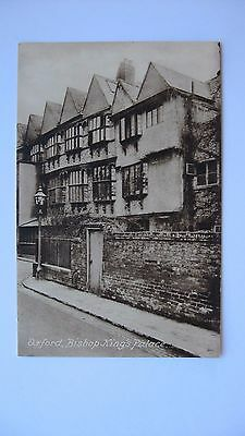 Old Vintage Postcard Bishop King's Palace Oxford Frith's series real photograph