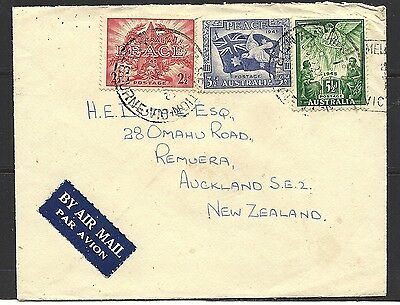 1946 Australia Air Mail Cover To New Zealand
