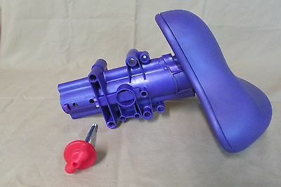 Fisher Price Smart Cycle Replacement Part Purple Seat and Assembly with Pin