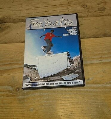 Transworld Free Your Mind Skateboard DVD