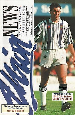 West Bromwich Albion v Grimsby Town, 30 April 1994, Division 1