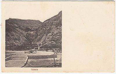 ADEN / YEMEN - Tanks - Early Undivided Back - vintage postcard