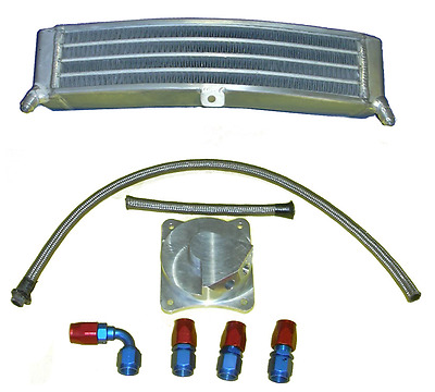 Racing Ölkühler Set Suzuki GSXR 600 750 2008-17 Oil Cooler Radiator Race Tuning
