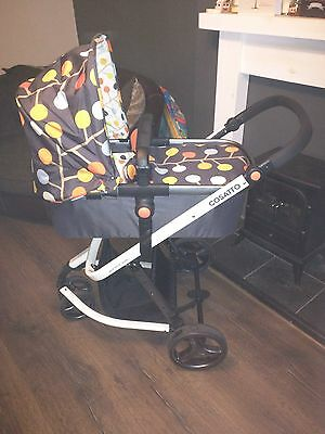 Cosatto Giggle 2 Fable 3-in-1 Travel System (Pushchair, Carry Cot and Car Seat)