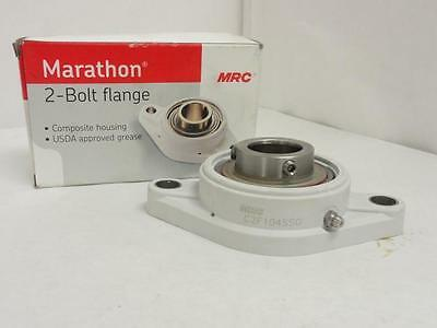 "144422 New In Box, MRC C2F104SSG Washdown Flange Bearing, 1-1/4"" ID, 2-Bolt"