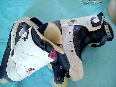 Roces Aggressive Fifth Element Inline Skates Vintage Size 7 Rollerblade