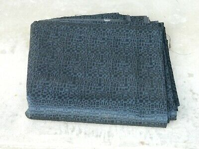 1950s? 1960s? OEM Buick Seat Upholstery Material, Wholesale Lot, BLACK, Vintage