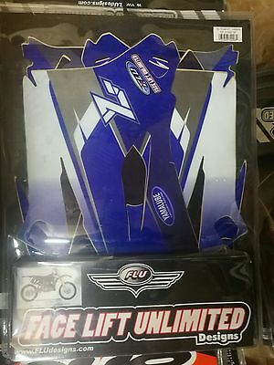 Yamaha Yzf 250 450 2006 - 2009 Full Graphics Decals Sticker Kit & Seat Cover