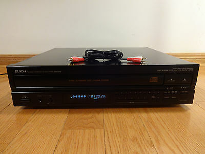 Denon DCM-420 5-Disc Carousel CD Changer Player 1991 Japan TESTED 100% Workihg!