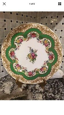"""18th Century Inspired SEVRES PORCELAIN Plate 10-1/2"""""""