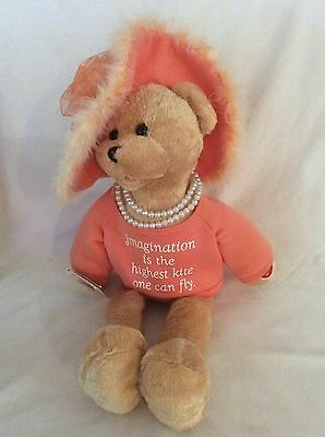"""Chantilly Lane Bear Sings """"That's What Friends Are For"""" In Orange Shirt & Hat"""