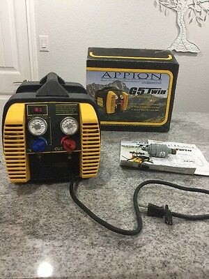 Appion G5 Twin Cylinder Refrigerant Recovery Machine Unit (306)