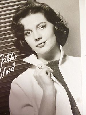 Young NATALIE WOOD 1950s Photograph B&W NATALIE WOOD Photograph 1950s FAN CLUB