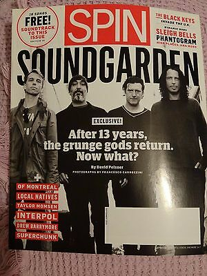 Soundgarden - Spin Magazine September 2010