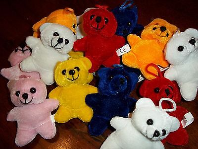 Irish Made Tiny Teddy Bear BUY 1 GET 1 FREE   Cute Gift Loop Crafts 4''
