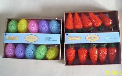 Choose A Set Of Easter String Lights, Eggs Or Carrots