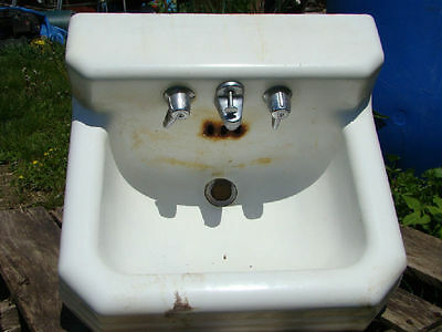 Antique Cast Iron Bathroom Sink