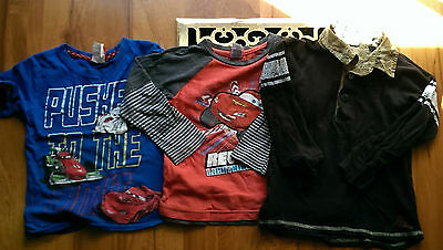 Cars size 3 boys T-shirts and more