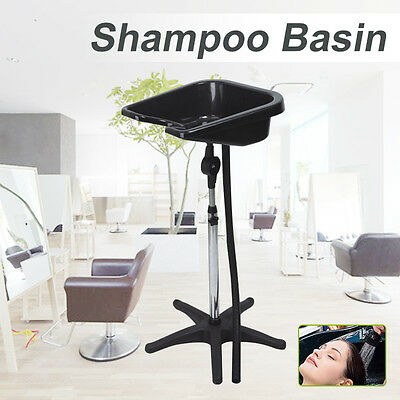 Mobile Portable Hairdressing Salon Hair Washing Basin High Gloss Shampoo
