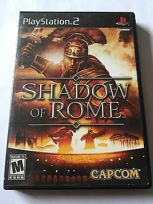Shadow of Rome (Sony PlayStation 2, 2005) Complete