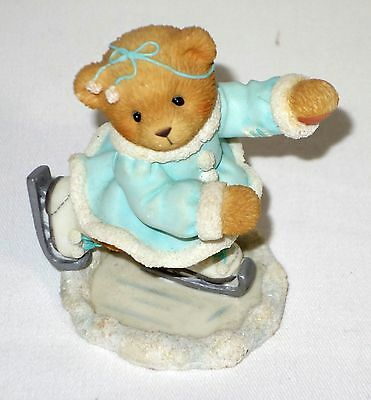 "Cherished Teddies Shannon Ice Skater ""A Figure 8 Our Friendship Great"" 851/353"