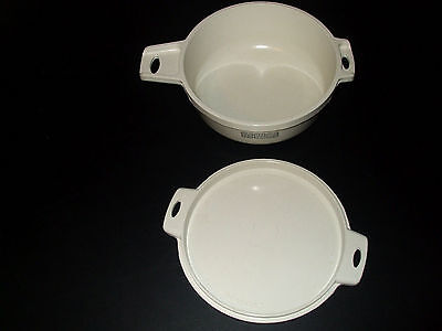 LittonWare Microwave Ovenware 2 Cup Dish & Lid #39277 & #39278