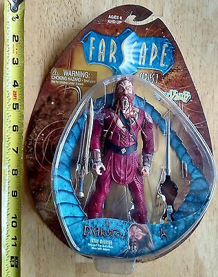 "Farscape Ka D'ARGO Luxan Warrior 7"" ACTION FIGURE TOY New Unopened Series 1"
